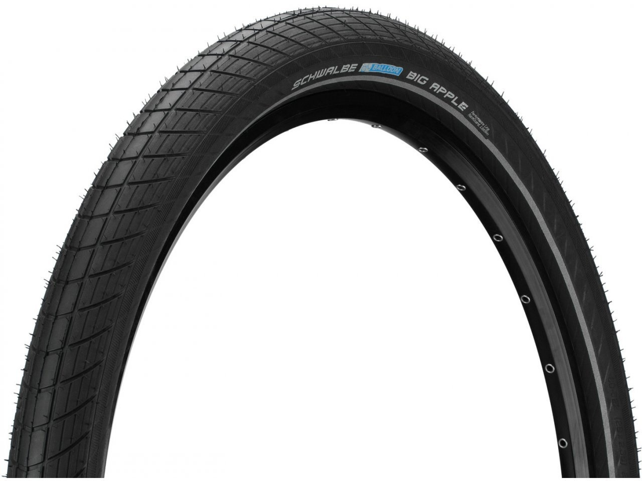 Schwalbe Bicycle Tire Big Apple Balloon all Sizes