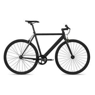 6KU Track Fixie & Single Speed Bike - Black
