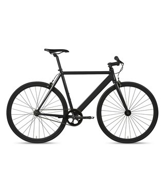 6KU Track Fixie & Single Speed Bike - Black