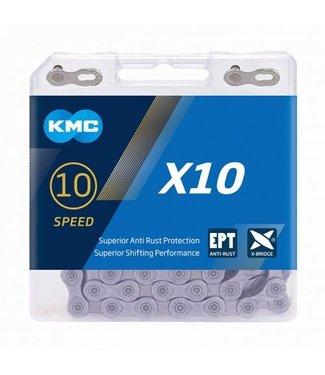 KMC X10 EPT Chain - Silver