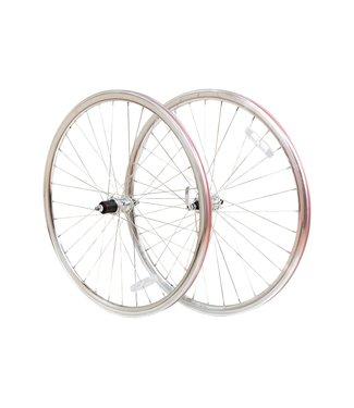 6KU Road Wheelset 8-Speed Silver