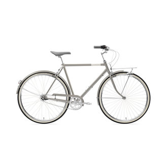 Creme Cycles Caferacer Man Solo Gray Sky