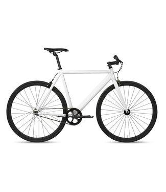 6KU Track Fixie & Single Speed Bike - White
