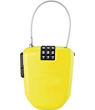 Hiplok FX Wearable Retractable Combi Lock incl. reflector