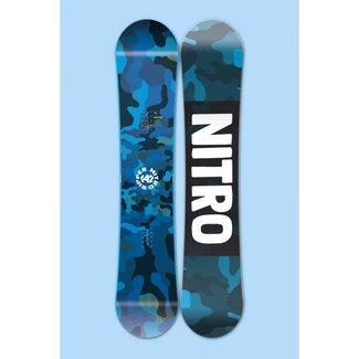 Nitro Snowboard - Ripper Youth - Blue Camo