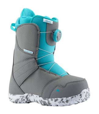 Burton Snowboard Boots Kids - Zipline Boa Grey/Blue 36.5