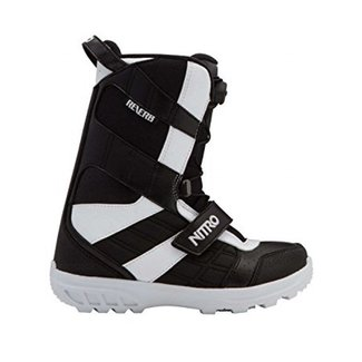 Nitro Snowboard Boots - Reverb Youth QLS Black/White