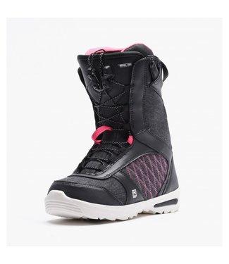Nitro Snowboard Boots - Flora TLS Black/Pink
