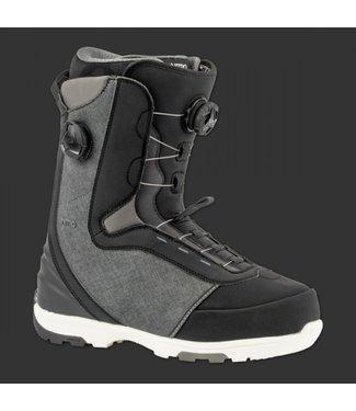 Nitro Snowboard Boots - Club Boa Dual Grey/Black