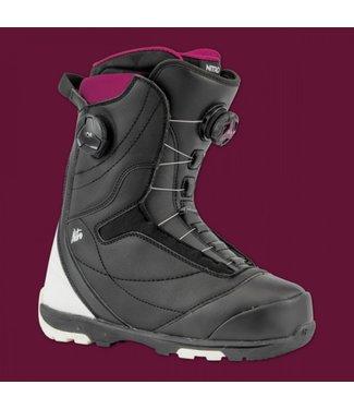 Nitro Snowboard Boots - Cypress Boa Dual Black/White