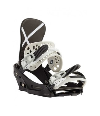 Burton Snowboard Bindings - X EST White/Black '21