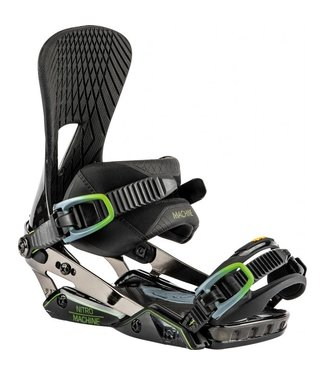 Nitro Snowboard Bindings - Machine Black Carbon