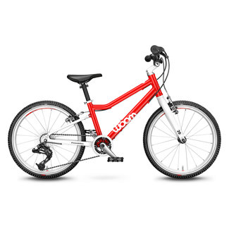 Woom 4 | Bike 20 inch | 6-8 years | 115-130 cm | 7.3 kg