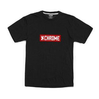 Chrome Industries Horizontal Red Logo  Teeshirt