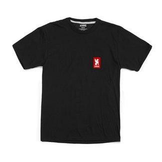 Chrome Industries Vertical Red Logo  Teeshirt