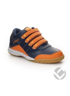 Brabo Velcro Navy/Orange/Lime Indoor