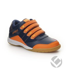 Brabo Velcro Navy/Orange/Lime Indoor