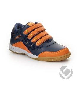 Brabo Velcro Navy/Oranje/Lime Indoor