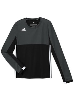 Adidas T16 Long Sleeve Shirt Girls Black