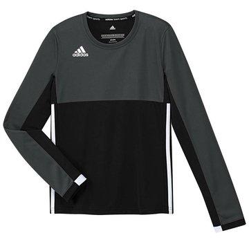 Adidas T16 Long Sleeve Shirt Girls Zwart