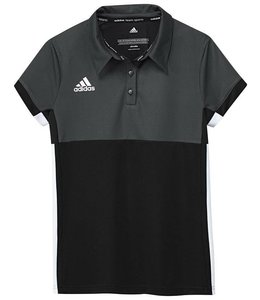 Adidas T16 Polo Mädchen Schwarz