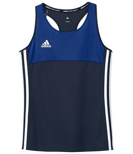 Adidas T16 Singlet Girls Navy