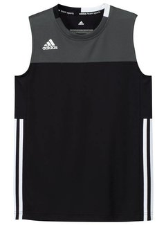 Adidas T16 Singlet Boys Black