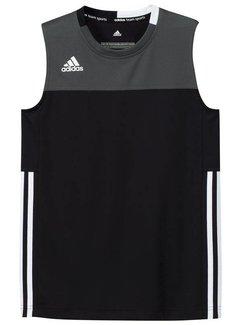 Adidas T16 Singlet Boys Zwart