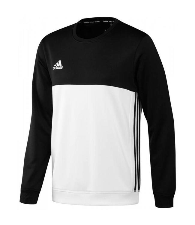 Adidas Sweater Heren T16 Crew Hockeypoint Zwart 8XPk0wnO