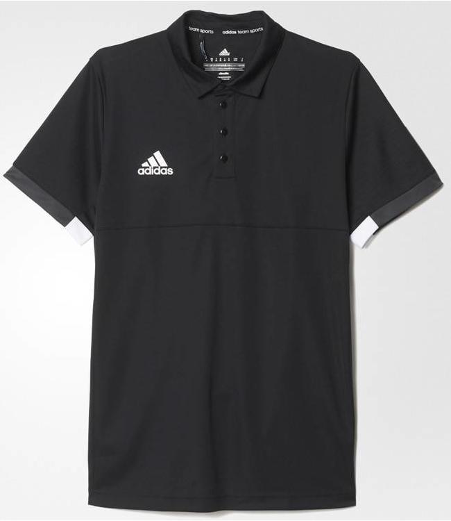 Adidas T16 'Offcourt' Team Polo Herren Schwarz