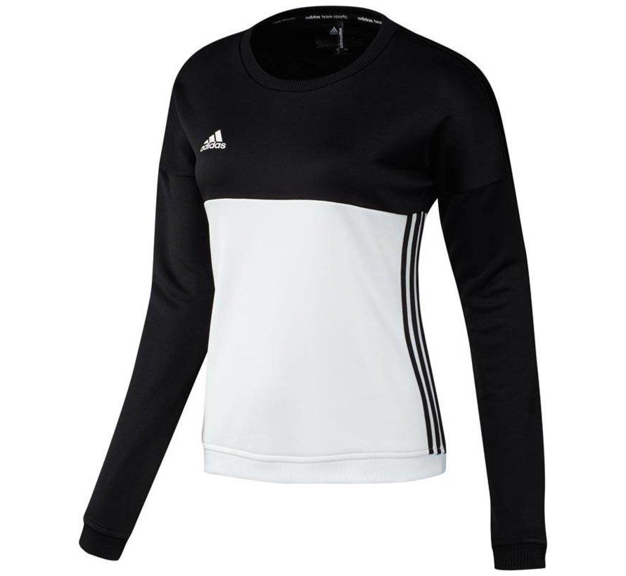 T16 'Offcourt' Crew Sweater Dames Zwart