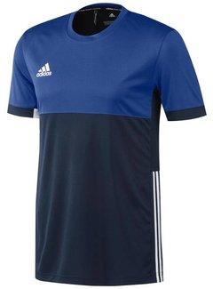 Adidas T16 Short Sleeve Tee Men Navy