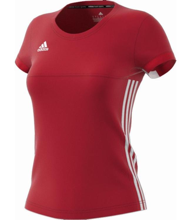 Adidas T16 'Offcourt' Team T-shirt Damen Rot