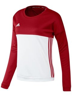 Adidas T16 'Offcourt' Crew Sweater Dames Rood