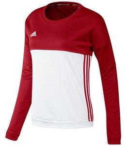 Adidas T16 'Offcourt' Crew Sweater Women Red