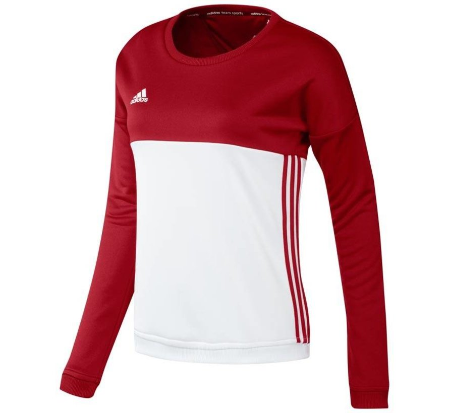 Adidas T16 'Offcourt' Crew Sweater Women Red