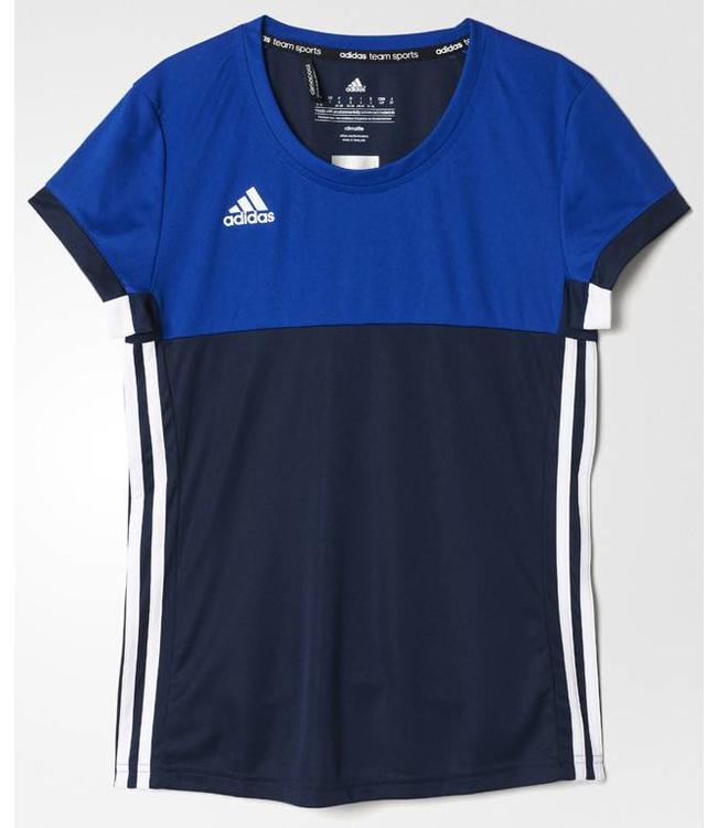 Adidas T16 'Oncourt' short sleeve shirt Damen Navy