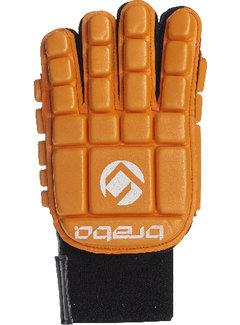 Brabo Foam Glove F3 Full Finger Linkerhand Oranje