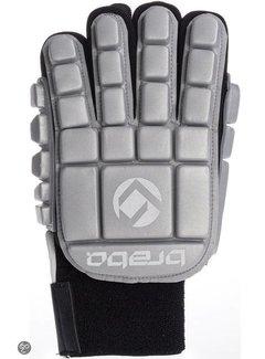 Brabo Foam Glove F3 Full Finger Linkerhand Zilver