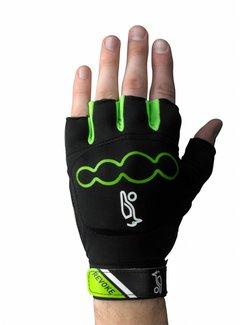 Kookaburra Revoke Glove Zwart/Lime