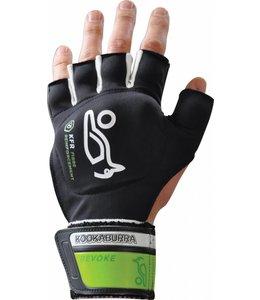 Kookaburra Revoke Glove Kookaburra Black/White/green Hockeyhandschoen