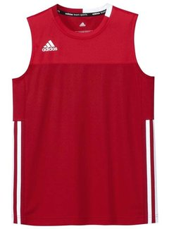 Adidas T16 Sleeveless Tee Men Red