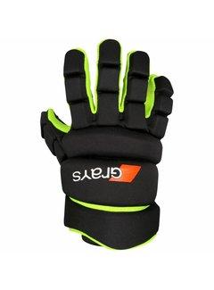 Grays Pro 5X Glove Zwart/Geel
