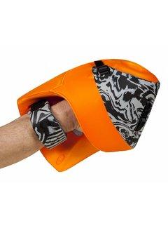 Obo ROBO Hi-Rebound Plus Handprotector Rechts Orange