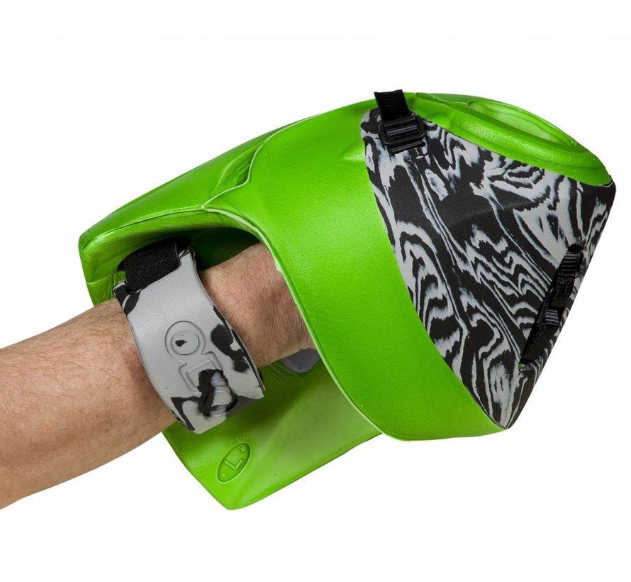 ROBO Hi-Rebound Plus Handprotector Rechts Groen