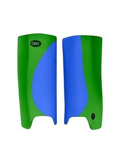 Obo Robo Hi-Rebound Legguards Blau/Grün