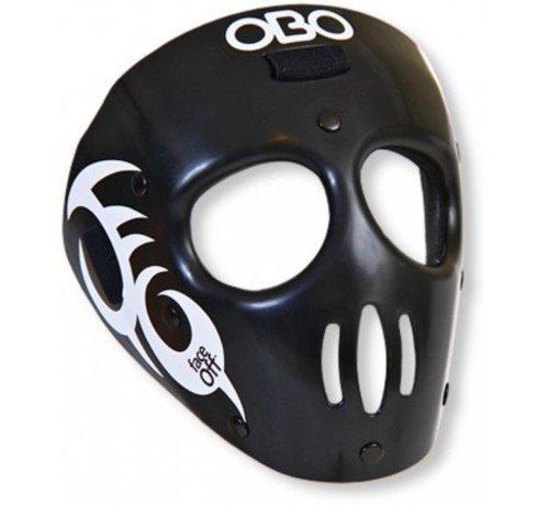 Obo Faceoff Strafeckenmaske Schwarz