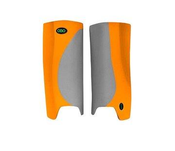 Obo ROBO Hi-Rebound Legguards Oranje/Grijs