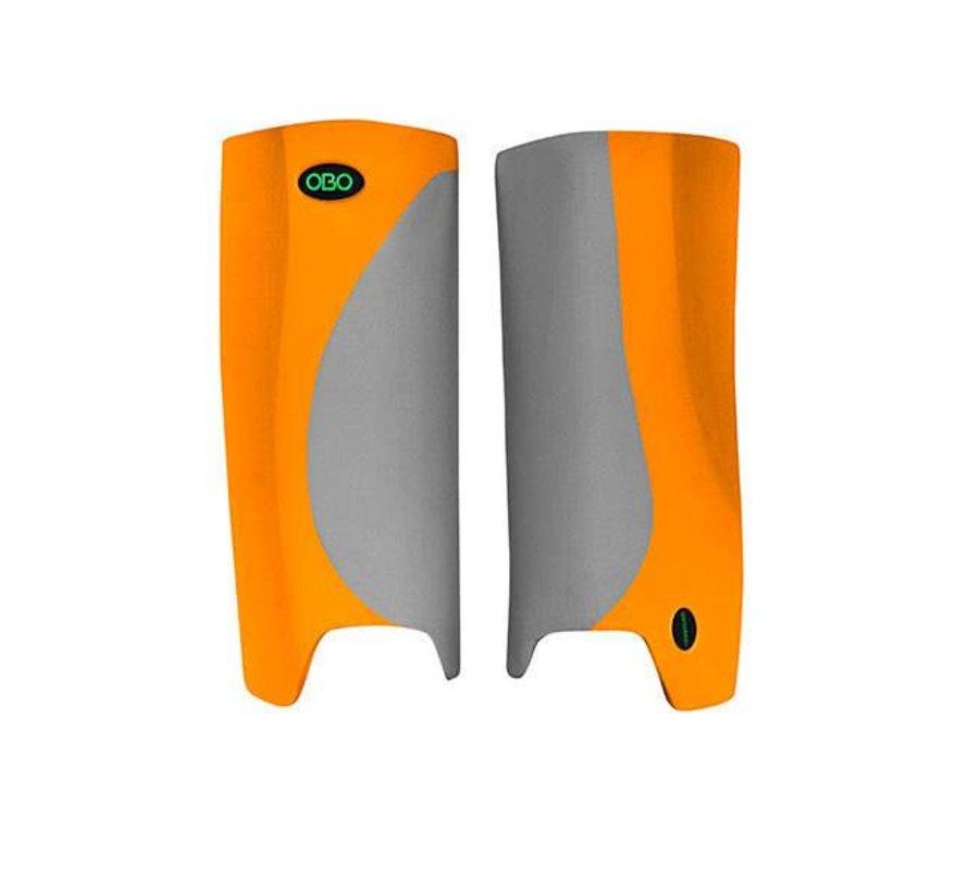 ROBO Hi-Rebound Legguards Oranje/Grijs