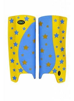 Obo Robo Hi-Rebound Legguards Stars Peron/Yellow